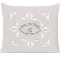 Lavander Cushion Eveil Eye Design