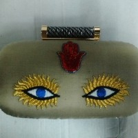 Women  Handmade Clutch Bag